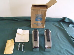 Nos 1966 1965 Ford Galaxie Front Bumper Guards Fomoco