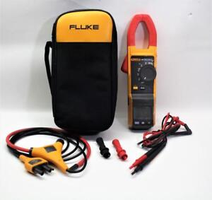 Fluke 381 F381 Remote Display True Rms Ac dc Clamp Meter With Iflex I2500 18
