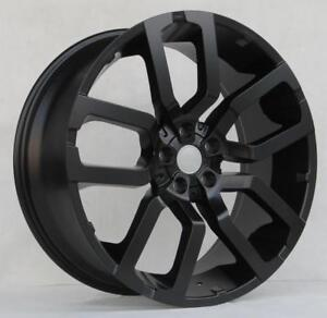 22 Wheels 521sb For Land Rover Discovery Lr3 Lr4 22x9 5