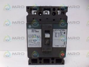 General Electric Ted136060 Circuit Breaker 60a used