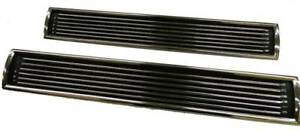 New 67 Chevelle Ss Hood Louver Inserts Sold As A Pair
