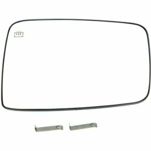 Left New Mirror Glass Heated For Truck Driver Side Lh Hand Dodge Ram 1500 2500
