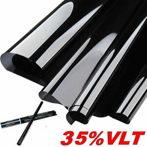 Uncut Window Tint Roll Film 35 Vlt 20 120 In 10 Feet Ft Office Car Home Glass
