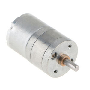 6v Dc Mini Brushless Electric Gear Motor Speed Reduction Motor 180rpm