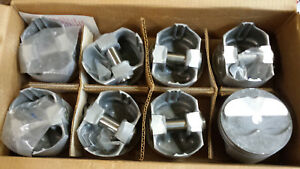400 Chevy Forged Stroker Pistons L2477f Standard Bore