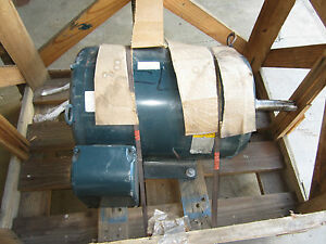 Baldor Electric Motor 60 Hp 460 Volt 3600 Rpm 3 Phase New In Crate