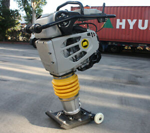4 4hp Gas Power 149cc Rammer Tamper Jumping Jumper Jack Compactor 15600n Force