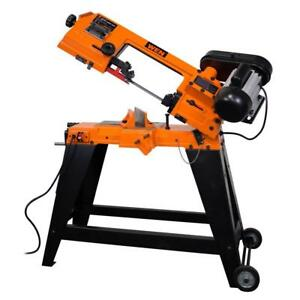 1 Hp 4 In X 6 In Horizontal vertical Metal Cutting Portable Band Saw