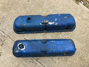 Valve Cover Power By Ford Small Block 289 351 302 1965 66 67 68 69 70 Mustang Oe
