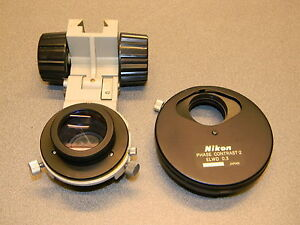 Nikon Phase Contrast 2 Elwd 0 3 Condenser Lens from A Diaphot I Parted Out
