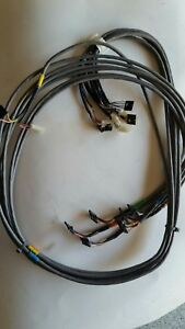 Hp Agilent 5890 Series Ii Plus Gc Epc Cables 6 Channels Gas Chromatograph