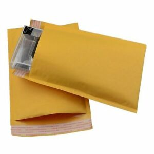 50 7 Kraft Bubble Mailer Padded Self Seal Envelopes 14 25 X 20