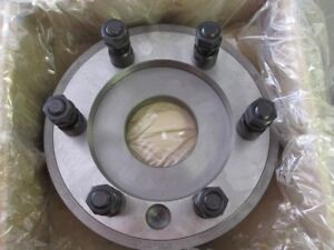 Bison 7 921 1290 Semi Machined Adapter Plate For Plain Back Chuck Type C 11 New