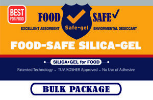 2g 1000pack food Safe Silica Gel safe Desiccant safe gel Fda tuv kosher Approved