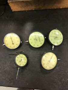 Federal Dial Indicator Lot Full Jeweled