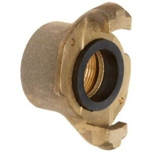 Dixon Bsc125 Brass Sand Blast Air Hose Fitting Threaded Coupling 1 1 4