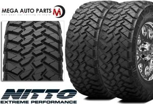2 X New Nitto Trail Grappler M t Lt295 60r20 126q E 10 Mud Terrain Tires