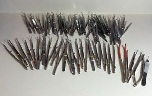 Dental Cotton Pliers Set Of 53 Assorted
