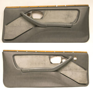 1987 1990 Trans Am Gta Ws6 Formula Molded Door Panels Pair Lh Rh Gm Used