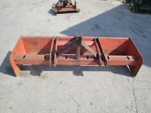 Tractor Supply 6 Foot 3 Point Hitch Box Blade