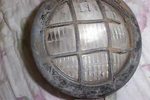 5 3 4 Tractor Industrial Light Lamp With Guard Caterpillar Allis