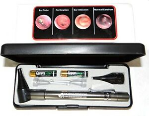 Lighted Ear Curettes Plus Hard Case third Generation Dr Mom Slimline Stainless L