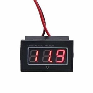Drok 0 56 quot Waterproof Dc 15 120v Digital Voltmeter Voltage Measurement Gaug