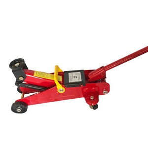 2 Ton Portable Small Mini Floor Jack Vehicle Car Garage Auto Hydraulic Lift