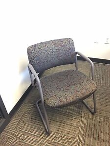 Sled Base Guest side Chair By Steelcase Office Furniture Model 421482nm