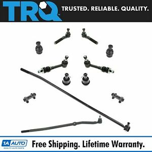 Trq Ball Joint Tie Rod Adjuster Steering Suspension Kit 12pc For Ram 1500 4wd