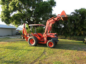 Kubota Mx5000e Loader Backhoe 951 Original Hrs Turf Tires