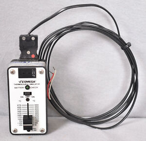 Omega Thermocouple Simulator Cl 300 500c