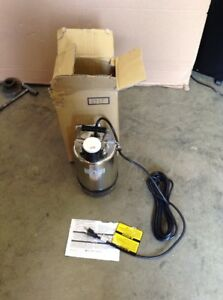 Little Giant Franklin Electric Submersible Fs 750 Ss Utility Sump Pump 1 Hp