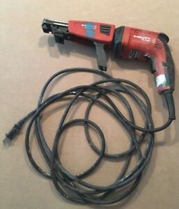 Hilti Sd4500 Corded Drywall Screwdriver With Smd57 Magazine Works Great
