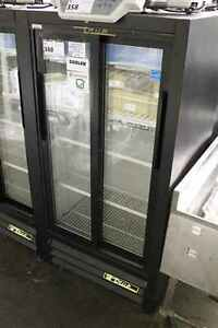 True 2 Door Slide Glass Coolers Gdm 11sd Tested And In Great Working Condition