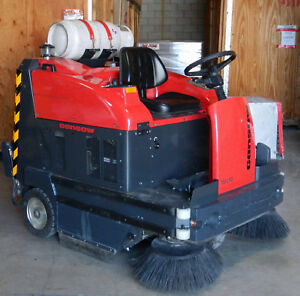 2005 Gansow 150 Lpg propane Ride on Floor Sweeper Low Hours 127