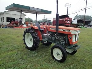 Nice Yanmar Ym 2000 2wd Diesel Tractor With Only 221 Hours