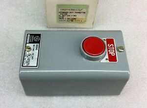 Ge Cr2943na101f Pushbutton Station Stop Switch 600v New In Box