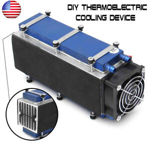 8 chip 12v 576w Tec1 12706 Diy Thermoelectric Cooler Radiator Air Cooling Device