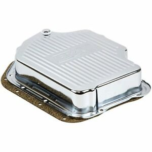 B M 20289 Chrome Plated Steel Deep Transmission Pan Gm Th400