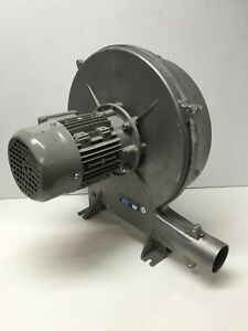 Cbi Dt2 Centrifugal Blower Fan Exhaust Ventilation Dual Stage 270mm Impeller