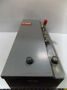 Federal Pacific Fpe Size 2 3 Phase 3 Pole Motor Starter Assy 4213