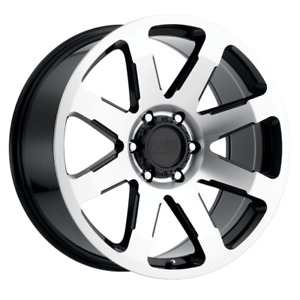 Set 4 20x9 18 6x139 7 6x5 5 Mb Legacy Black Wheels Rims 20 Inch 60033