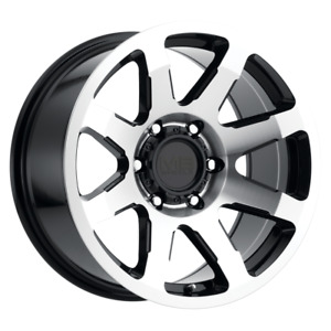 Set 4 17x8 5 18 6x139 7 6x5 5 Mb Legacy Black Wheels rims 17 Inch 60027