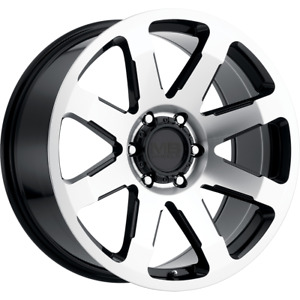 Set 4 17x8 5 18 5x139 7 5x5 5 Mb Legacy Black Wheels Rims 17 I