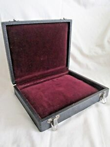 Vintage Eagle Lock Co Velvet Lined Case Display for Jewelry