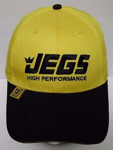New Jegs High Performance Car Racing Parts Mustang Ford Truck Adjustable Hat Cap