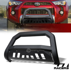 For 2010 2018 Toyota 4runner Matte Blk Avt Edge Bull Bar Brush Push Bumper Guard