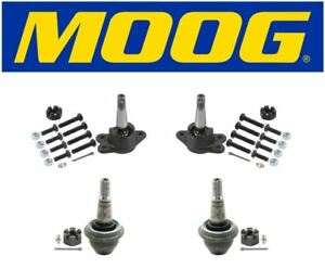 Moog Front Upper Lower Ball Joints Fits 1999 Cadillac Escalade K6292 K6509