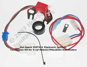Electronic Ignition Conversion Kit For Datsun nissan 240z 6 cyl Hitachi Dist